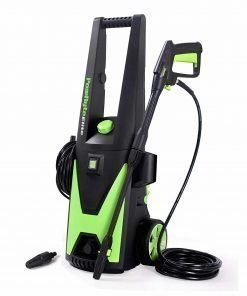 PowRyte Elite 2200 PSI 1.8 GPM Electric Pressure Washer, Power Washer with Extra Turbo Nozzle, 3 Quick-Connect Spray Tips and Tall Handle