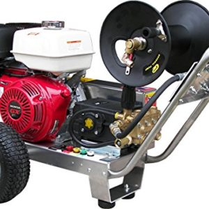 Belt-Drive Pressure Washer with Honda GX390 4,000 PSI 4.0 GPM