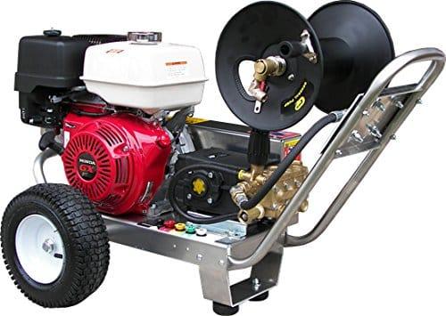 Belt-Drive Pressure Washer with Honda GX390 4,000 PSI 4.0 GPM