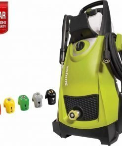 Sun Joe SPX3000 Pressure Joe 2030 PSI Electric Pressure Washer with Electric Pressure Washer Quick-Spray Tip + 1 Year Extended Warranty (Green)