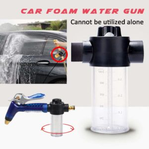 Cheng-store Water Gun Snow Foam Lance Household Multifunctional Car Washing Water Gun 100ml Snow Foam Bottle Lance