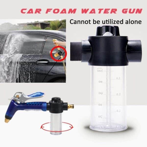 Cheng-store Water Gun Snow Foam Lance Household Multifunctional Car Washing Water Gun 100ml Snow Foam Bottle Lance