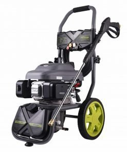AUTLEAD Gas Pressure Washer 3200PSI 2.6Gallon 18Feet Pressure Hose 4 Nozzles with 3L Detergent Tank on Board US Storage GSH01A
