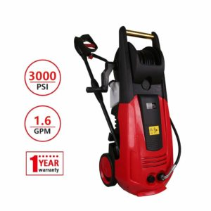 X-BULL 3000PSI 1.6GPM Electric Power Pressure Washer with Hose Reel,1-Year-Warranty,Multi-Role
