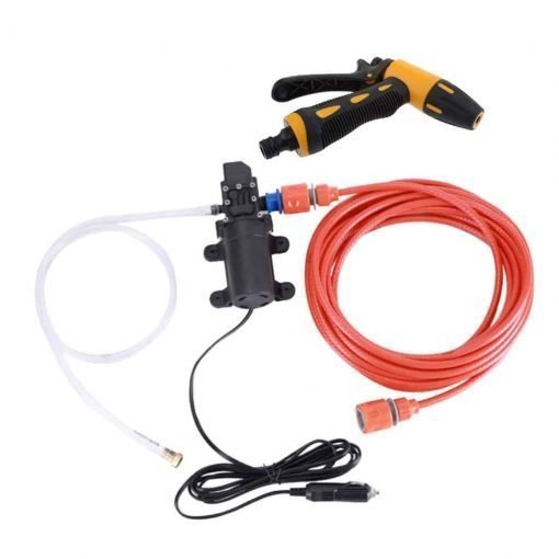 Baosity DC12V Portable Car Washer Pump 70W High Pressure Powerful for Cleaning