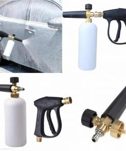 "HK-CB New 1/4"" Snow Foam Lance Cannon Washer Gun Soap Pressure Car Foamer Wash Jet Bottle"