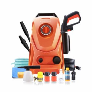 Electric High Pressure Car Washing Machine Household 220V Induction Child Lock Self-Priming Dual-use Adjustable Gun Head Car Wash Pump Portable Water Gun (Small) (Color : #3)