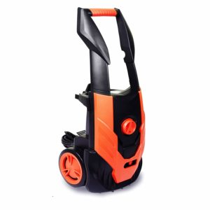 ENSTVER Electric Pressure Washer,1800PSI 1.8 GPM 1800W Washer Cleaner Machine Hose Reel,Spray Gun,Spray Brush,Nozzles Built in Soap/Foam Dispenser,ORaNGE021