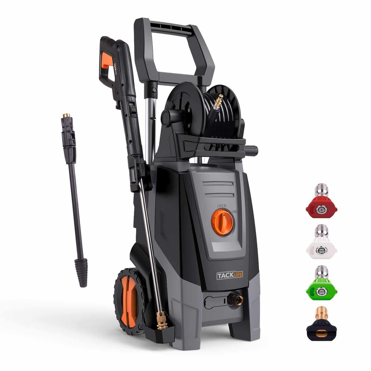 Tacklife Pressure Washer High Efficiency 2300 Psi 1 8 Gpm