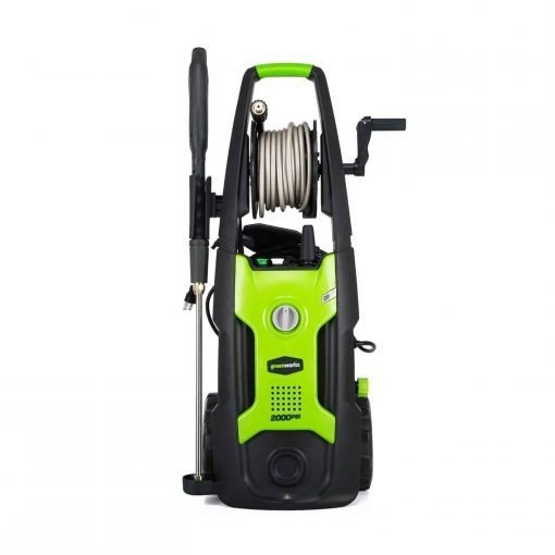 Greenworks 2000 PSI 13 Amp 1.2 GPM Pressure Washer with Hose Reel GPW2002
