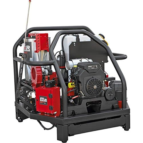 NorthStar ProShot Hot Water Commercial Pressure Washer Skid — 4000 PSI, 5.5 GPM, Kohler Engine