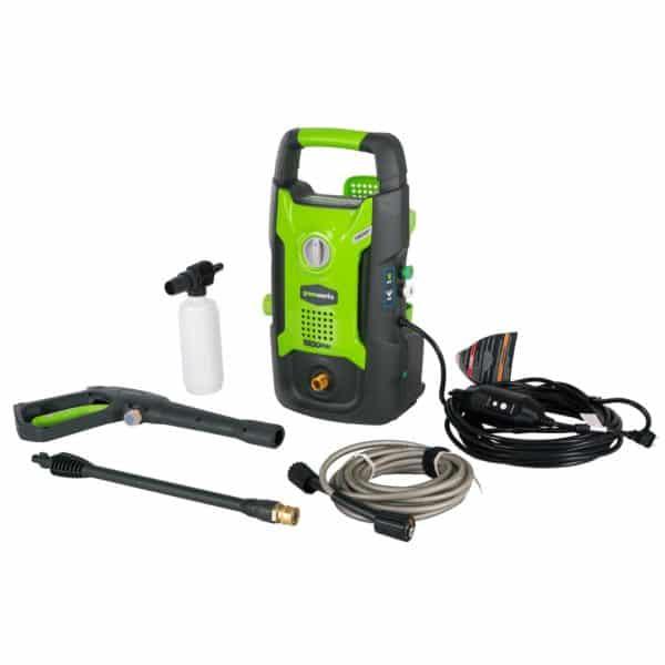 Greenworks 1600 PSI 13 Amp 1.2 GPM Pressure Washer GPW1602Greenworks 1600 PSI 13 Amp 1.2 GPM Pressure Washer GPW1602