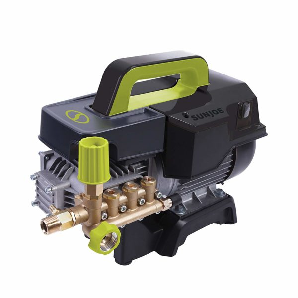 Sun Joe SPX9007-PRO Series 2.41 HP 1800 Psi 1.6 GPM Commercial Pressure Washer, Green/Black