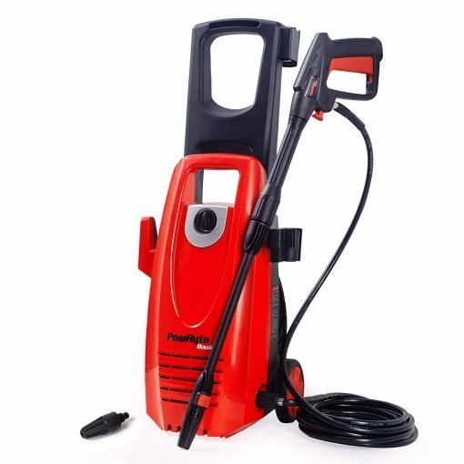PowRyte 2000PSI 1.8GPM Electric Pressure Washer with Extra Turbo Nozzle, Onboard Detergent Tank