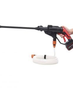 OlogyMart Cordless Hydroshot Portable Power Cleaner Li-ion 320psi 20V Pressure Washer Cleaner Gun