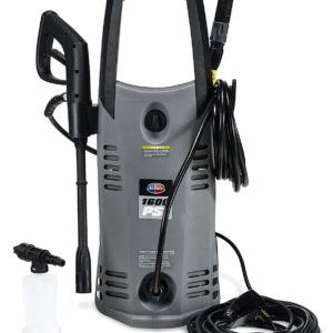 All Power America APW5005 1600 PSI 1.6 GPM Electric Pressure Washer With Hose Reel for House, Garage, Vehicle and Outdoor Cleaning