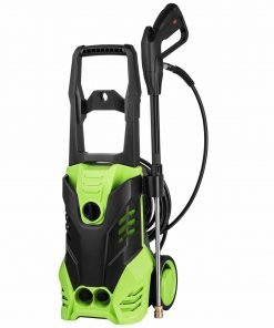 Mewalker Professional 3000 PSI Electric Pressure Washer 1.7GPM, 1800W Rolling Wheels High Pressure Washer Sprayer with Quick-Connect Spray Tips Onboard Detergent Tank US Stock