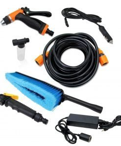 Dyconn Faucet HPPWS-12V Portable Pressure Washer System for Car Wash, 12-volt, Green