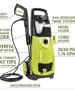 Joe 2030 PSI 1.76 GPM 14.5-Amp Electric Pressure Washer - Homes - Buildings - Cars - Trucks - Boats - Decks