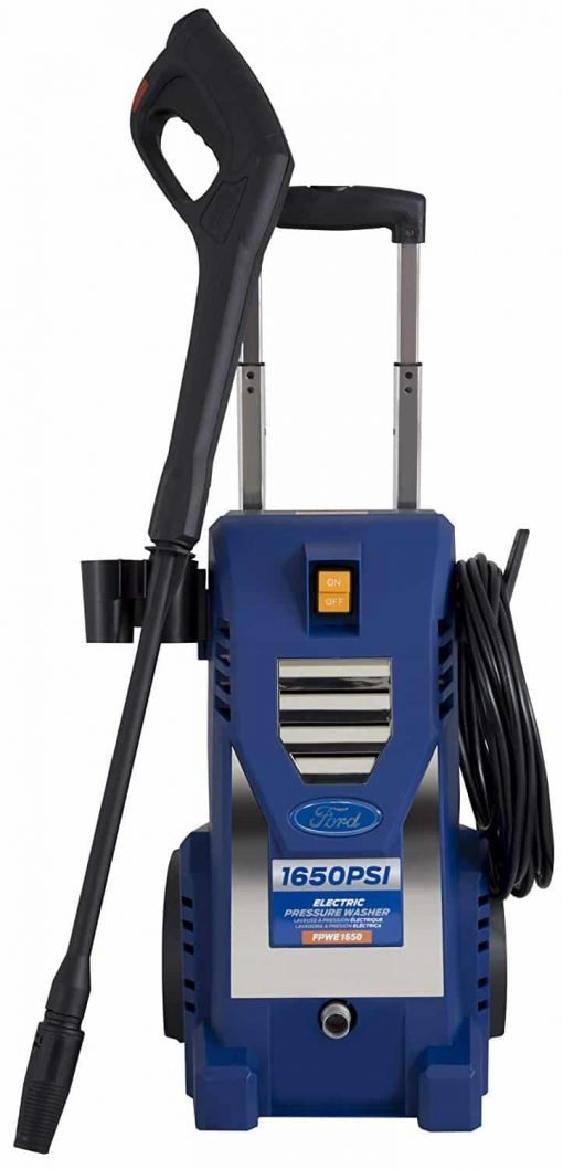 Ford FPWE1650 1,650PSI Built-in Soap Tank Electric Pressure Washer, 1650 PSI, Blue