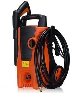 COSTWAY 1400PSI Electric High Pressure Washer 2000W 1.6GPM Sprayer Cleaner Machine w/Hose Reel, Soap Dispenser