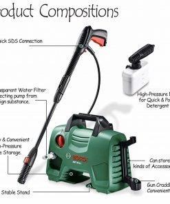 Bosch AQT 33-11 High-Pressure Washer Portable Lightweight 220V (AQT 33-11)