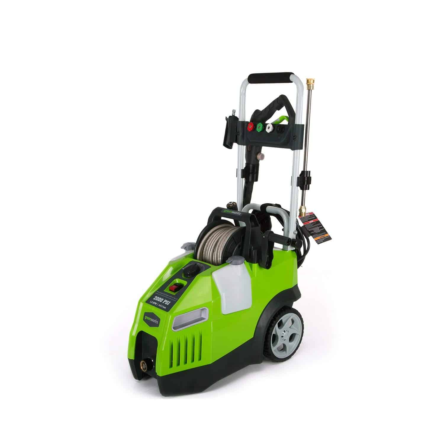 Faaqidaad : Greenworks 2000 psi electric power washer reviews