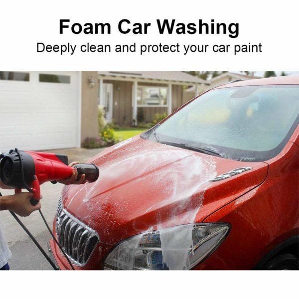 DBPOWER Electric Pressure Washer 1740 PSI 1800 Watt/12Mpa Portable Car Washer,