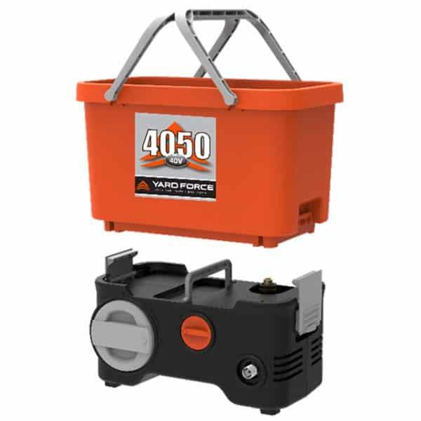 Yard Force YF4050PB Lithium-Ion Bucket Pressure Washer