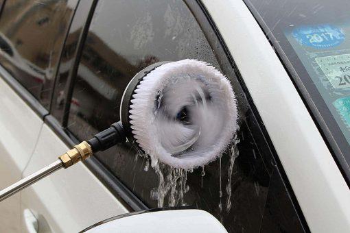 """TUHUT 1/4"""" Rotary Wash Brush for Pressure Washers Pressure washer brush"""