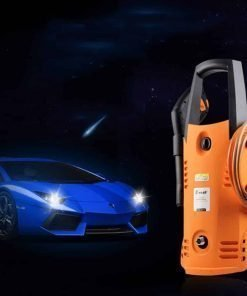 Electric High Pressure Car Washing Machine Household 220V Copper Portable Car Washing Machine Electric Washing Machine Car Brush Pump Water Gun
