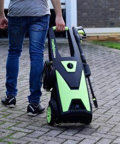 PowRyte Elite 2400PSI 2.0GPM Electric Pressure Washer with Extra Turbo Nozzle, Induction Motor