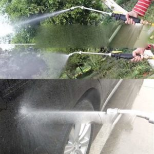 "Carole4 19"" High Pressure Power Washer Spray Nozzle Water Gun Hose Wand Garden Tool"