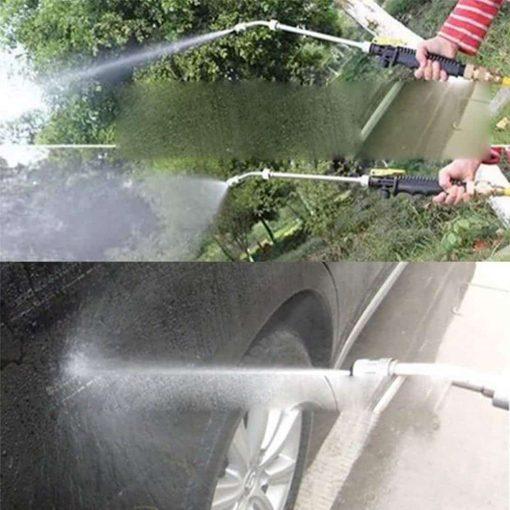 "Carole4 19"" High Pressure Power Washer Spray Nozzle Water Gun Hose Wand Garden Tool"
