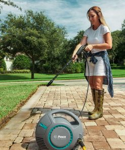 Power Pressure Washer 1300 PSI Lithium Battery 1.2 GPM 36V Brushless | The Next Generation of Pressure Washer | 4X More Lifespan | Ultra Low Sound Power Efficient (Blue)