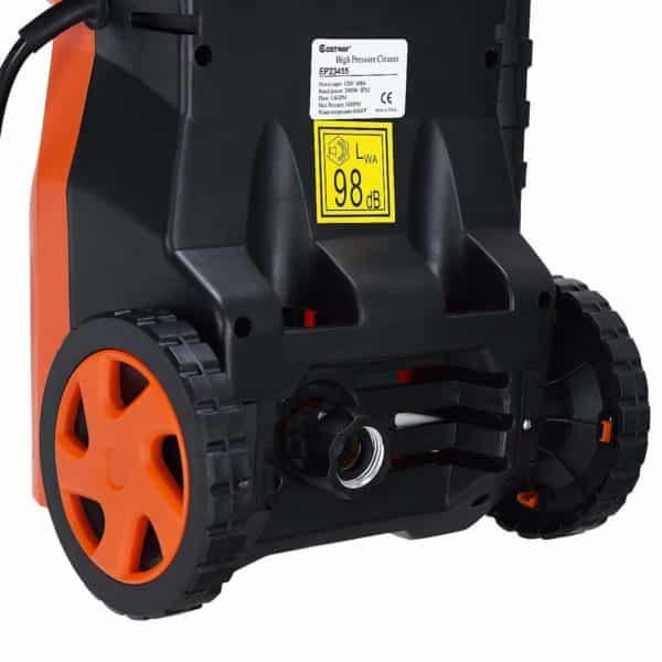COSTWAY 1400PSI Electric High Pressure Washer 2000W 1.6GPM Sprayer Cleaner Machine w/Hose Reel, Soap Dispenser