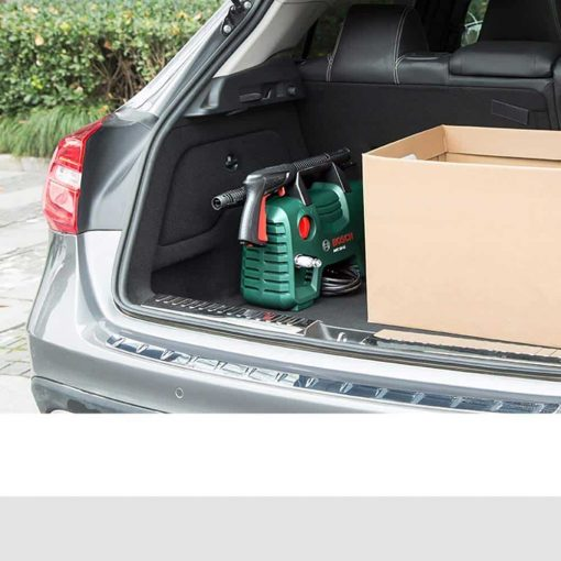 Electric High-Pressure Car Washing Machine Adjustable Nozzle Self-use Portable Power Car Washing Machine, for Car Watering and Camping