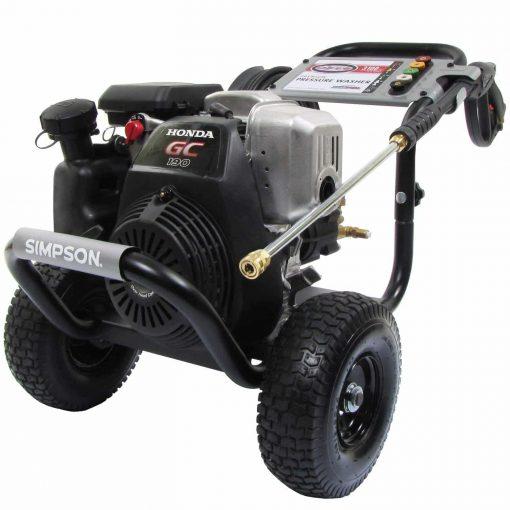 Simpson MegaShot - 3100 PSI - Gas Pressure Washer - Powered by Honda