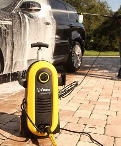 Power Pressure Washer 2200 PSI Electric 1.76 GPM Brushless Induction Technology | The Next Generation of Pressure Washer | 4X More Lifespan | Ultra Low Sound Power Efficient (Blue)